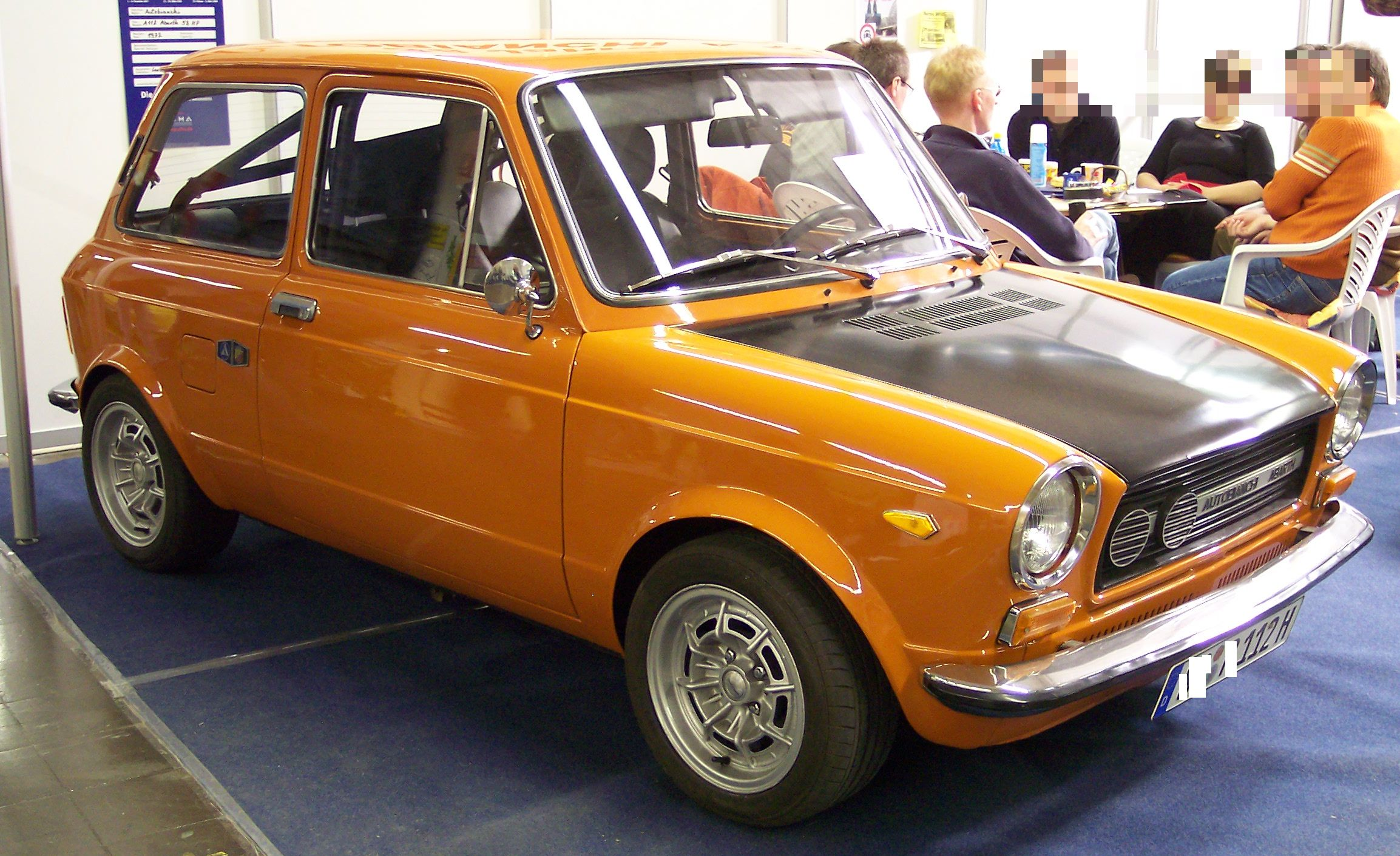 a 112 abarth rally